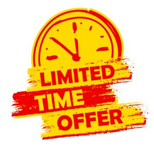 Current Specials - Limited time only