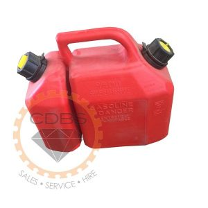 Gas and Oil conjoined Jerry Can Cannister Scepter CDBS