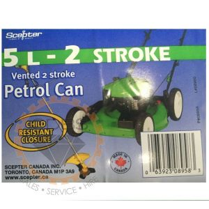 Gasoline-2stroke-5L-Jerry-Can-Cannister-Scepter-CDBS