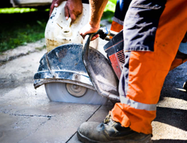 concrete cutting saw canberra