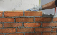 how to lay bricks