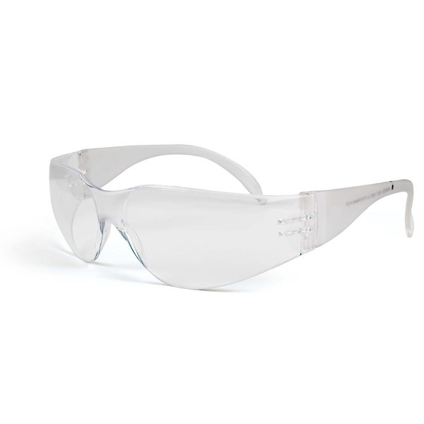 Clear Glasses and Safety Goggles